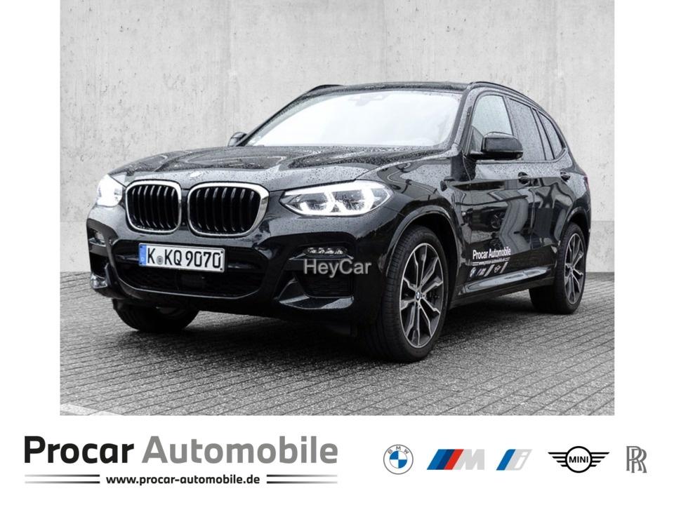 BMW X3 xDrive30d M SPORT AT Navi Leder Glasdach Xenon LED Scheinwerfer, Jahr 2020, Diesel