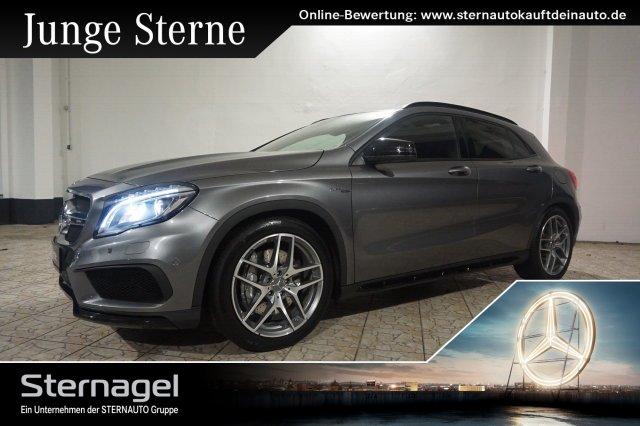 Mercedes-Benz GLA 45 AMG 4M COMAND/Pano.-Dach/Sitzhzg./Xenon, Jahr 2016, petrol