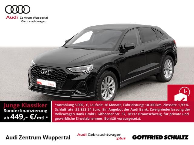 Audi Q3 SB 35TFSI AB 449 00 LEDER PANO R-KAM LANE DAB CONNECT DRIVE SELECT LED NAV SHZ PDC VO HI, Jahr 2021, Benzin