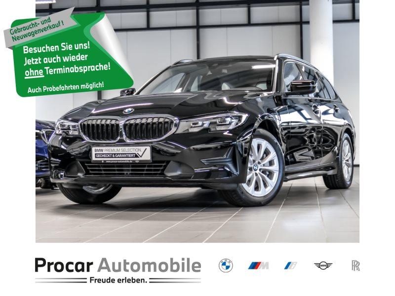 BMW 330i Touring Advantage LED Tempomat Klimaaut., Jahr 2019, Benzin