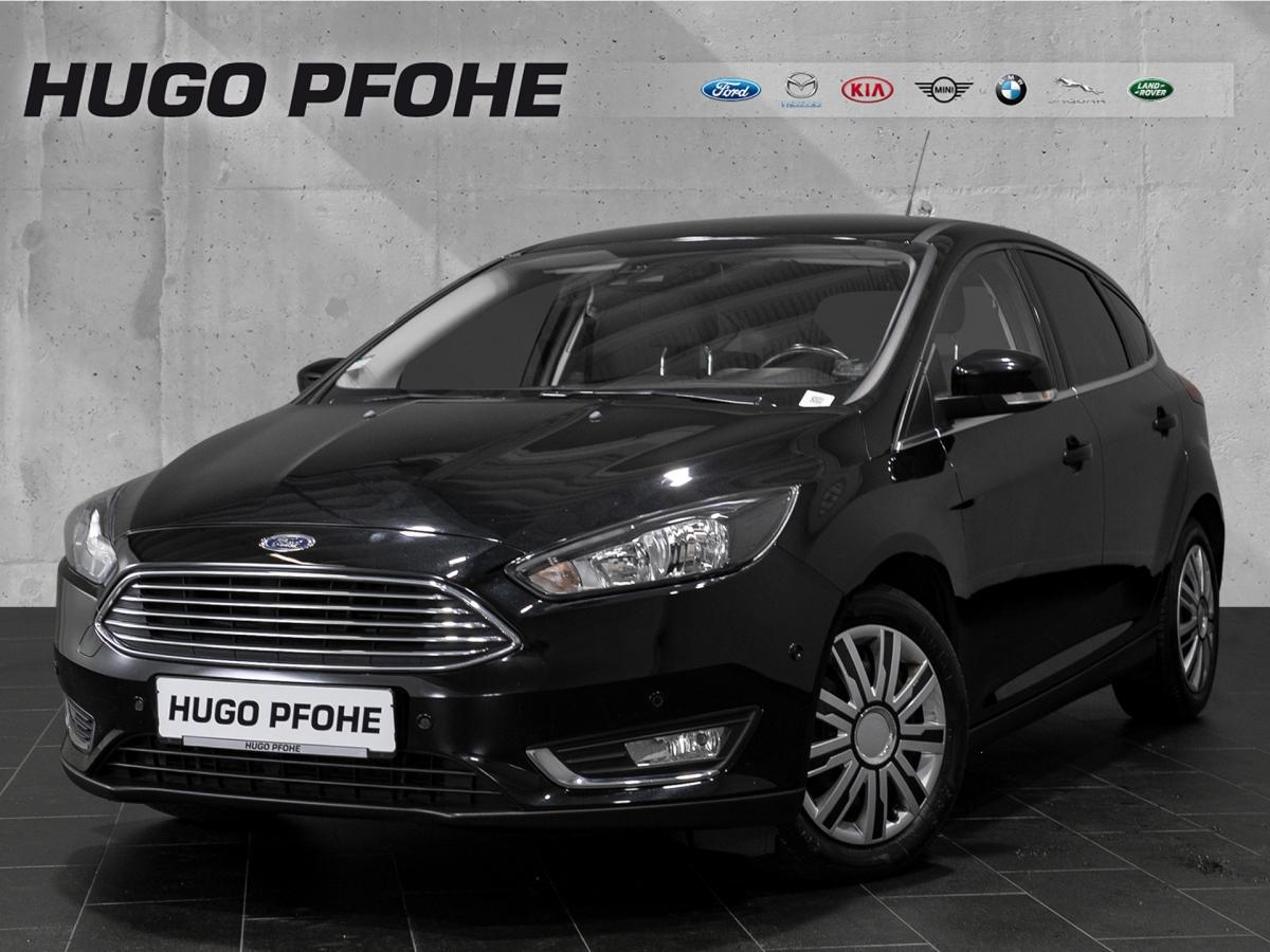 Ford Focus Titanium 1.5 EcoBoost Limousine, Jahr 2014, Benzin