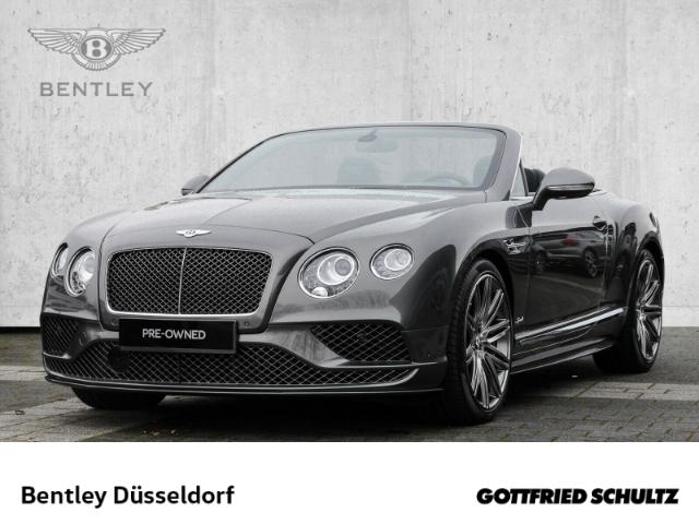 Bentley Continental GTC Speed BENTLEY DÜSSELDORF, Jahr 2017, Benzin