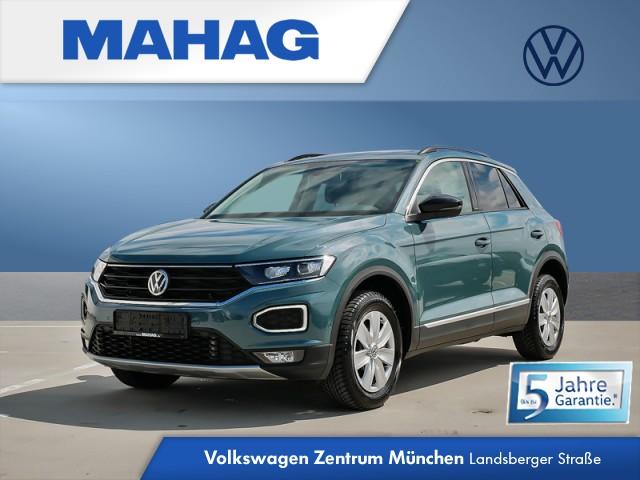 Volkswagen T-ROC 2.0 TDI IQ.DRIVE Navi LED ActiveInfo Panorama Kamera eKlappe DAB+ Sitzhz. ParkAssist FrontAssist 18Zoll DSG, Jahr 2020, Diesel