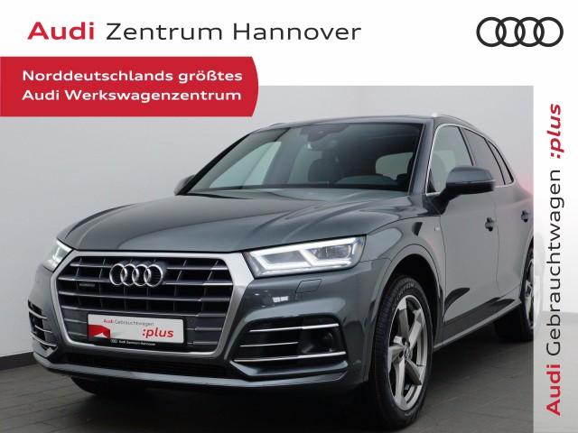 Audi Q5 3.0 TDI S line, Pano, Matrix, B&O, ACC, eSitze, Alcant., Jahr 2018, Diesel