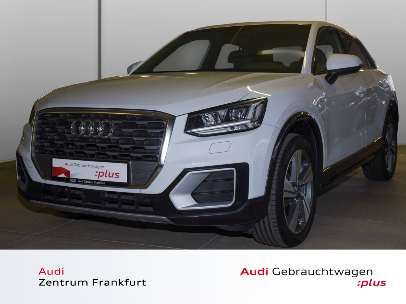 Audi Q2 1.6 TDI S line LED Navi PDC Sitzheizung S-Lin, Jahr 2017, Diesel