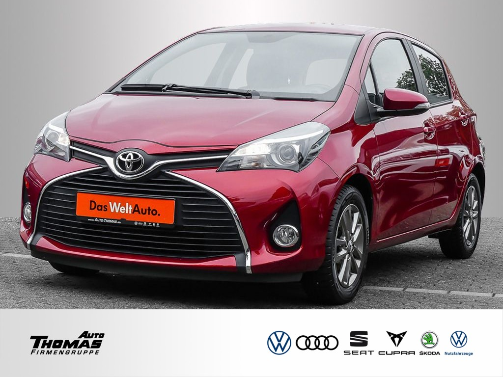Toyota Yaris Comfort 1.0 Dual-VVTi 5-Gang *KLIMA*KAMERA*, Jahr 2015, Benzin
