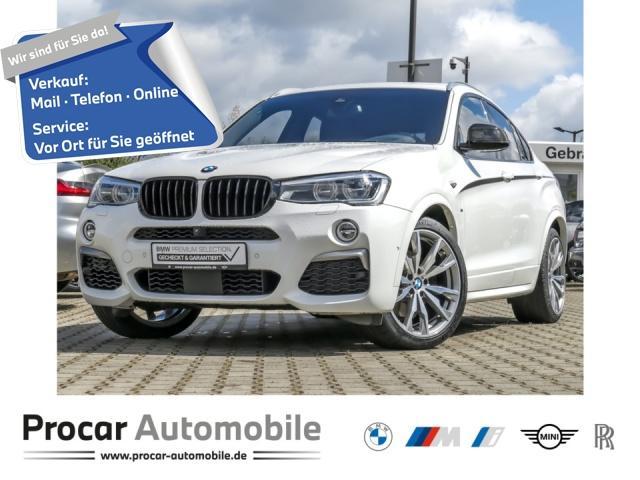 BMW X4 M40i DA+ Glasd. HuD AHK 360 H/K 20'' LM LED, Jahr 2017, Benzin