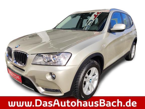 BMW X3 X-Drive 2.0D Automatik Navi Allrad, Jahr 2012, Diesel