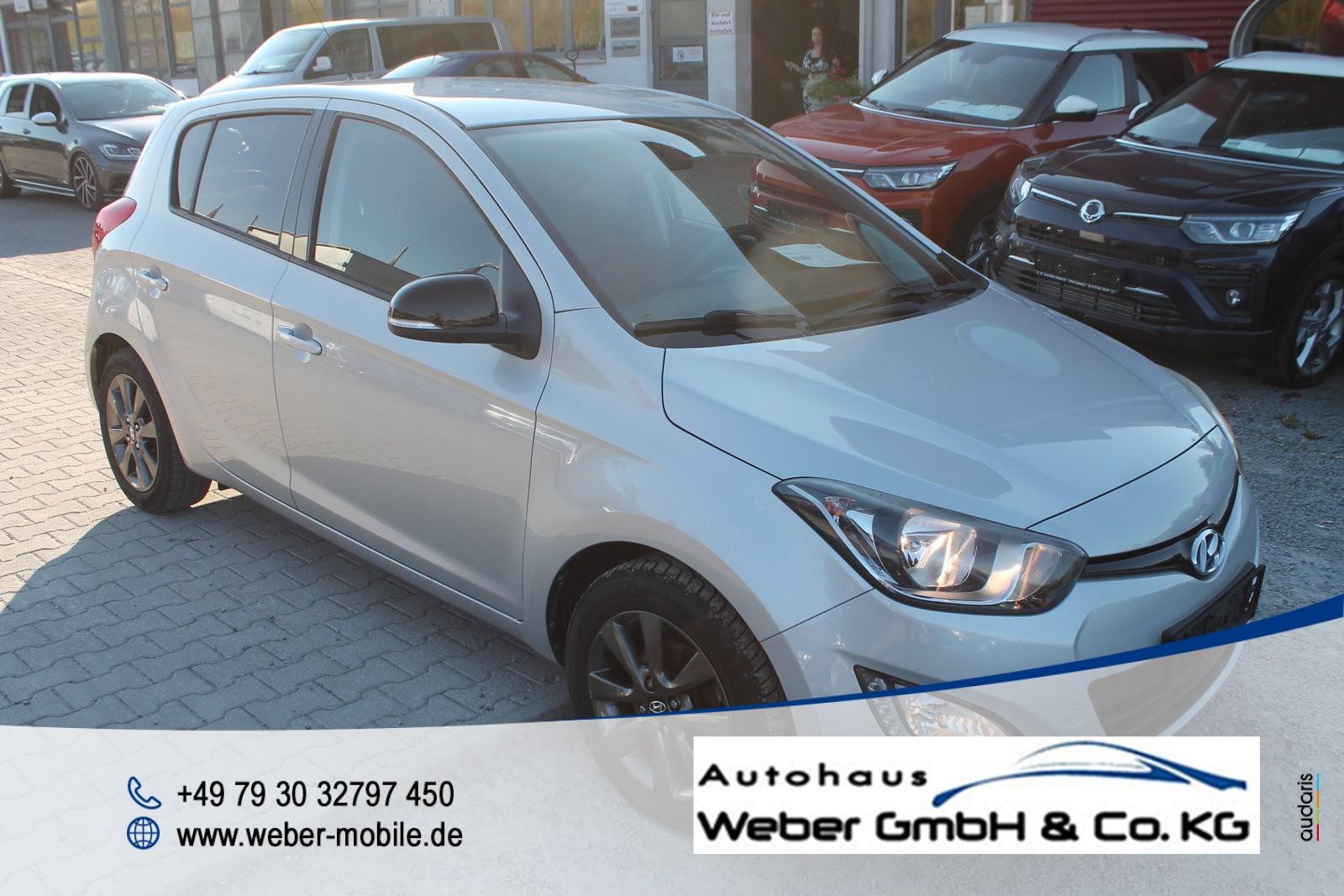 Hyundai i20 (05.2012->), Jahr 2013, Benzin