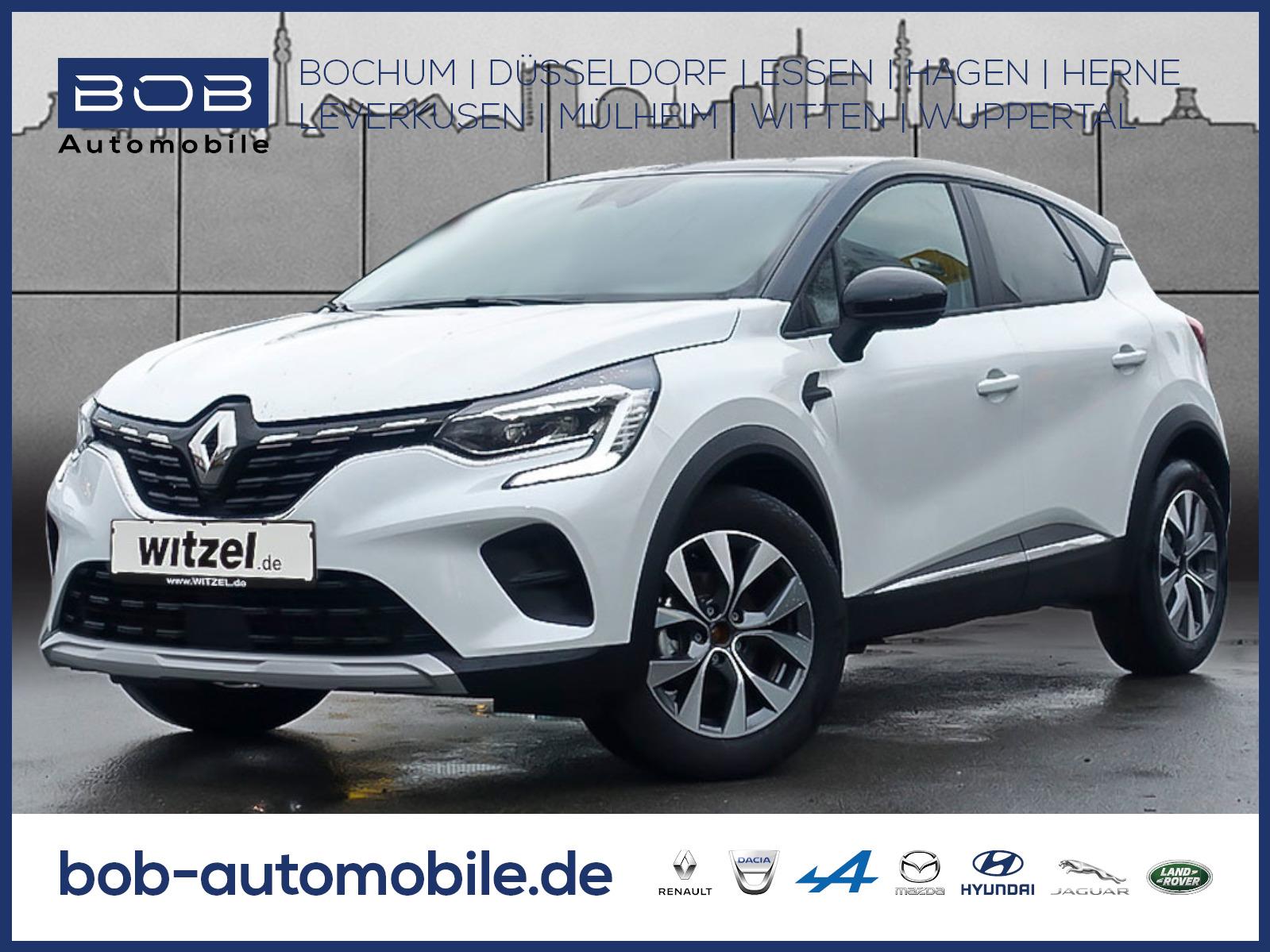 Renault Captur EXPERIENCE TCe 100 NAVI SHZ PDC KLIMA BT, Jahr 2019, Benzin