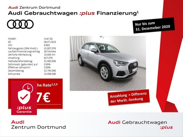 Audi Q3 35TDI qu. LED/DAB/GRA/APS+, Jahr 2019, Diesel