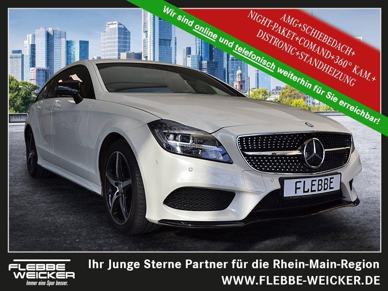 Mercedes-Benz CLS 350 d SB 4M+AMG+NIGHT+GSHD+360°+STANDH.+DIST, Jahr 2015, Diesel