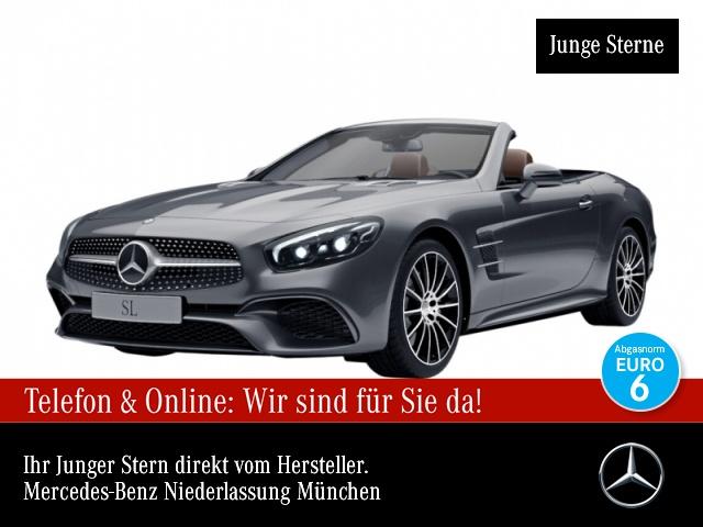 Mercedes-Benz SL 500 AMG Pano Harman Distr+ COMAND ILS LED 9G, Jahr 2016, Benzin