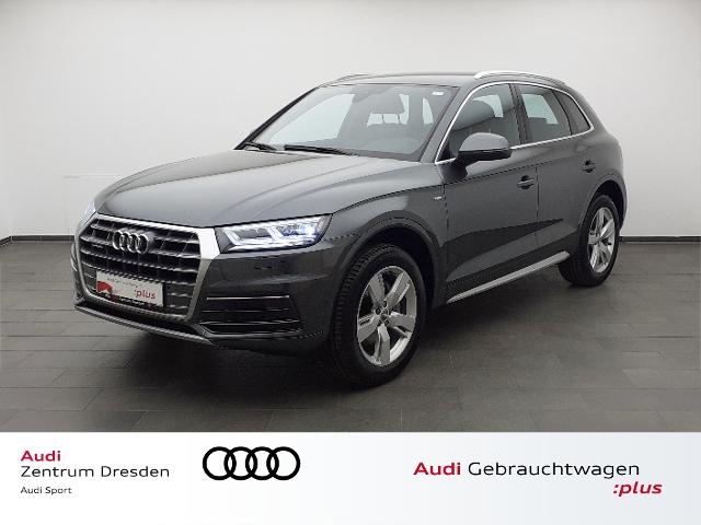 Audi Q5 2.0 TDI sport quattro S-line/ AHZV LED SW, Jahr 2018, Diesel