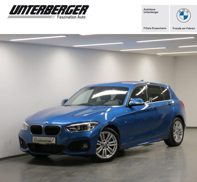 BMW 125d 5-Türer M Sportpaket HK HiFi LED Tempomat, Jahr 2017, Diesel