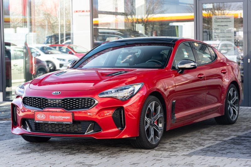Kia Stinger GT 4WD+Schiebedach+19 Alu+Service Neu+, Jahr 2019, Benzin