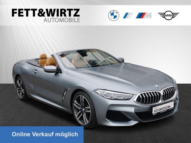 BMW 840i Cabrio M-Sport Laser ACC LR ab 985,- br.o.A, Jahr 2020, Benzin
