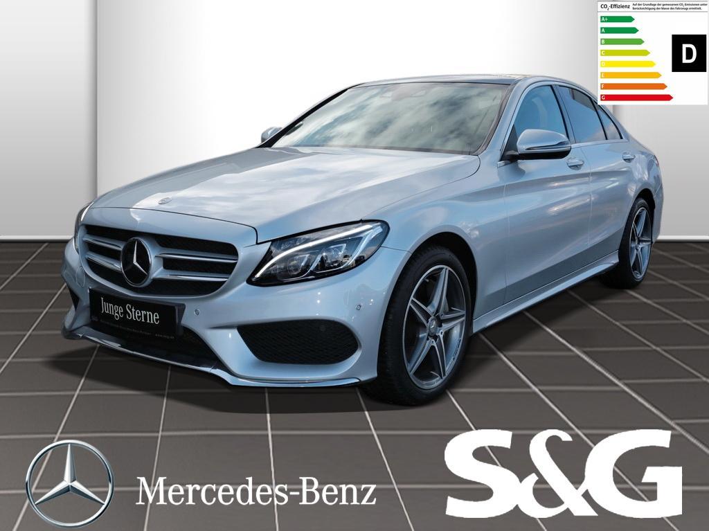 Mercedes-Benz C 400 4MATIC AMG-LINE R.Kam/Dinstronic/PanoDach, Jahr 2015, Benzin