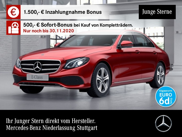 Mercedes-Benz E 220 d Avantgarde COMAND LED Kamera Totwinkel PTS, Jahr 2019, Diesel