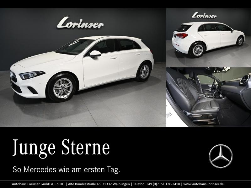 Mercedes-Benz A 160 PROGRESSIVE/MBUX/LED/NAVI PREMIUM/PTS/RFK, Jahr 2020, Benzin