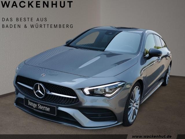 Mercedes-Benz CLA 220 Shooting Brake AMG Night LED Navi MOPF, Jahr 2019, Benzin