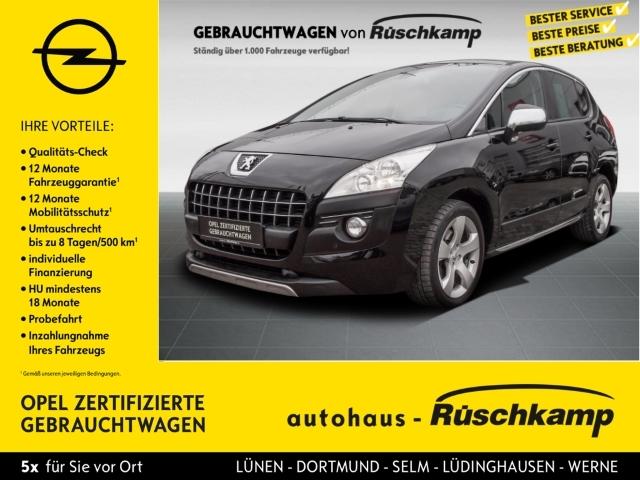 Peugeot 3008 Allure 2.0 HDi FAP 150 Navi AHK SHZ Klimatronic, Jahr 2012, Diesel
