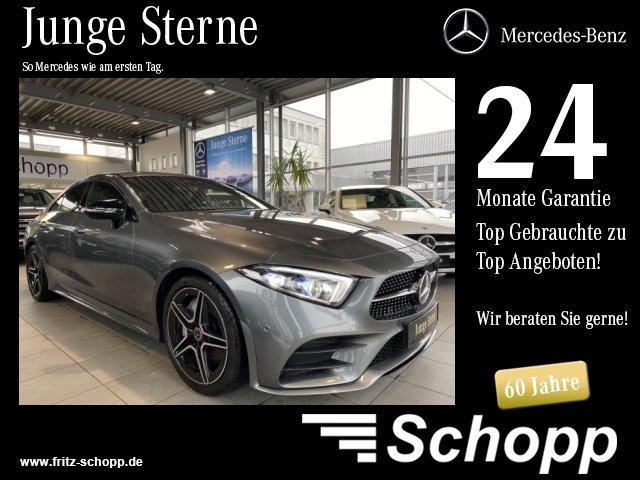 """Mercedes-Benz CLS 300 d AMG MULTIBEAM COMAND KEYLESS RFK 19"""", Jahr 2018, diesel"""
