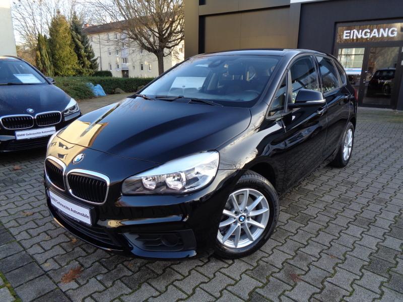 BMW 218i Active Tourer PDC Sitzheizung Klima Alu Servotronic, Jahr 2015, petrol