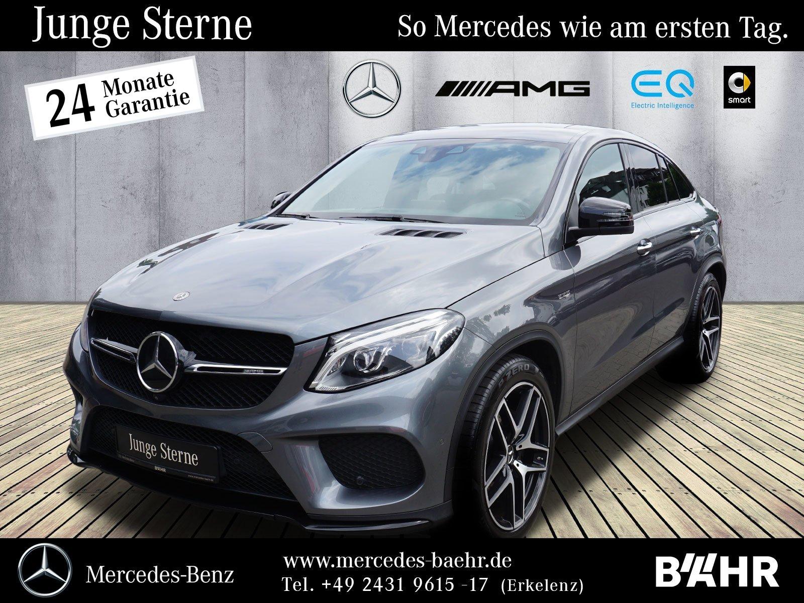 """Mercedes-Benz GLE 43 AMG 4M Coupé Night/Comand/LED-ILS/AHK/21"""", Jahr 2017, petrol"""