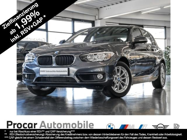 BMW 120i Advantage Navigation 16'' Alu PDC CD Tempo, Jahr 2017, Benzin