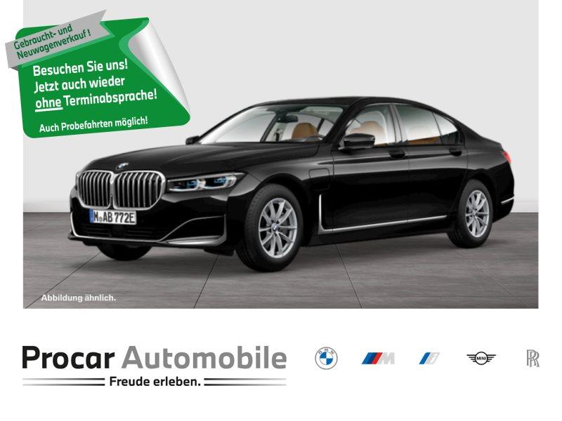 BMW 745e HUD LASERLICHT DA PROF. SITZBELÜFTUNG H/K, Jahr 2020, Hybrid