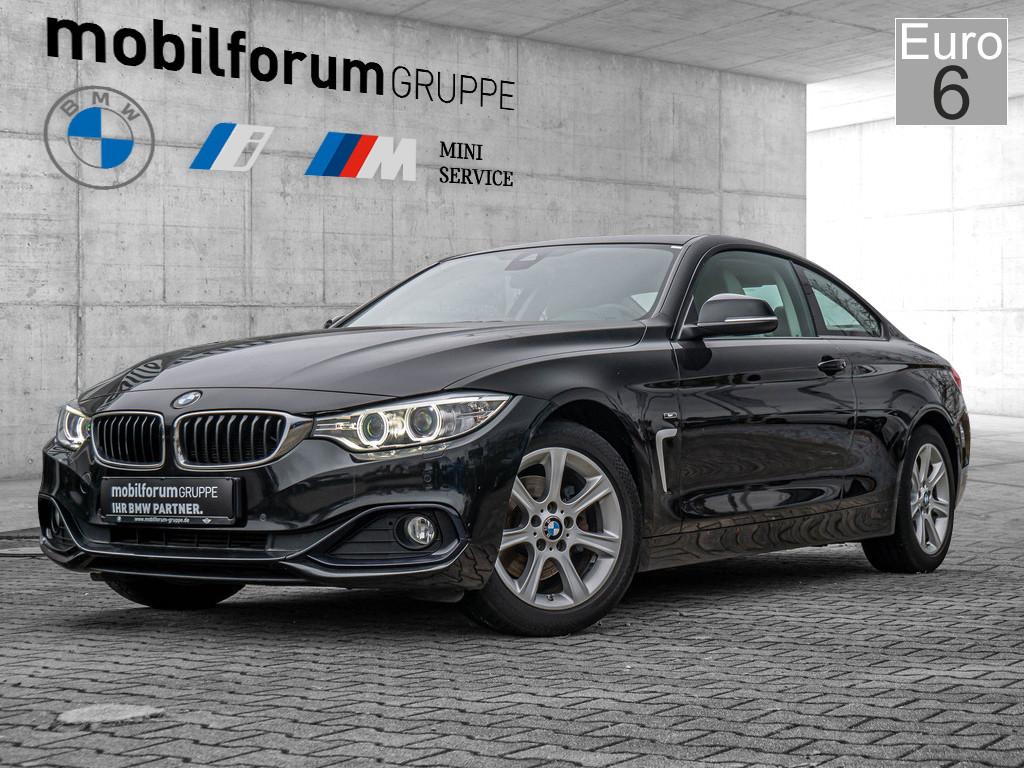 BMW 420d Coupé xDrive Sport Line, Jahr 2014, Diesel