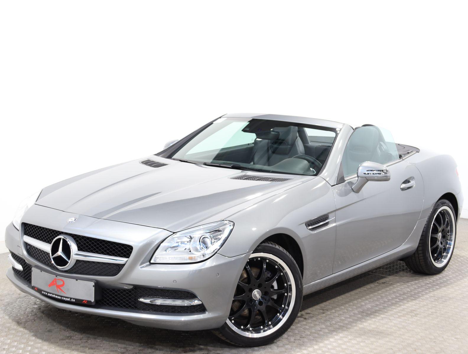 Mercedes-Benz SLK 200 7G NAVI COMAND,AIRSCARF,18 Z.,SCHECKHEFT, Jahr 2012, Benzin
