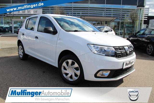 Dacia Sandero Essential SCe 75 Online-Verkauf möglich, Jahr 2018, Benzin
