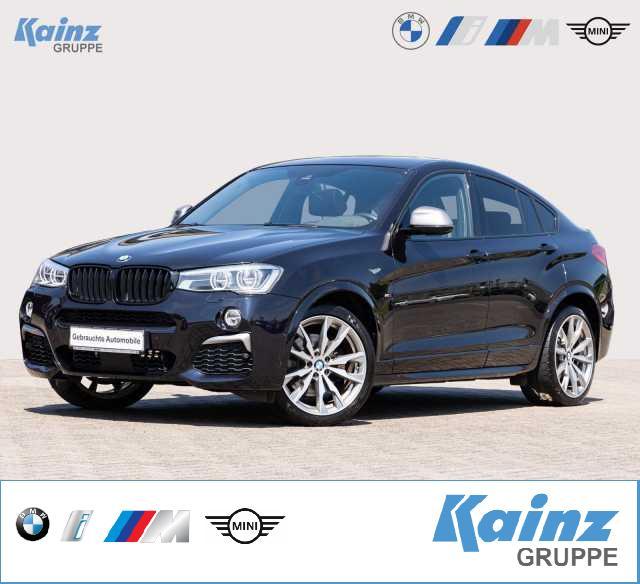 BMW X4 M40i M-Paket/ Innovationspaket/ AHK/ ACC/SHZ v.h, Jahr 2017, Benzin