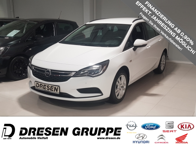 Opel Astra K Sports Tourer Edition 1.4 Turbo NAVI/KLIMAAUTOMATIK/SITZHEIZUNG, Jahr 2016, Benzin