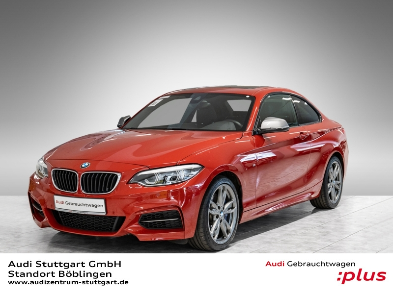 BMW M240i Coupé xDrive Leder LED SHD-Glas PDC+Kamera, Jahr 2018, Benzin