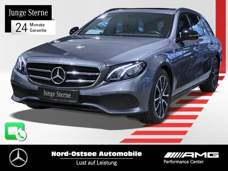 Mercedes-Benz E 200 T Avantgarde Navi Night SH Kamera Parktron, Jahr 2020, Benzin
