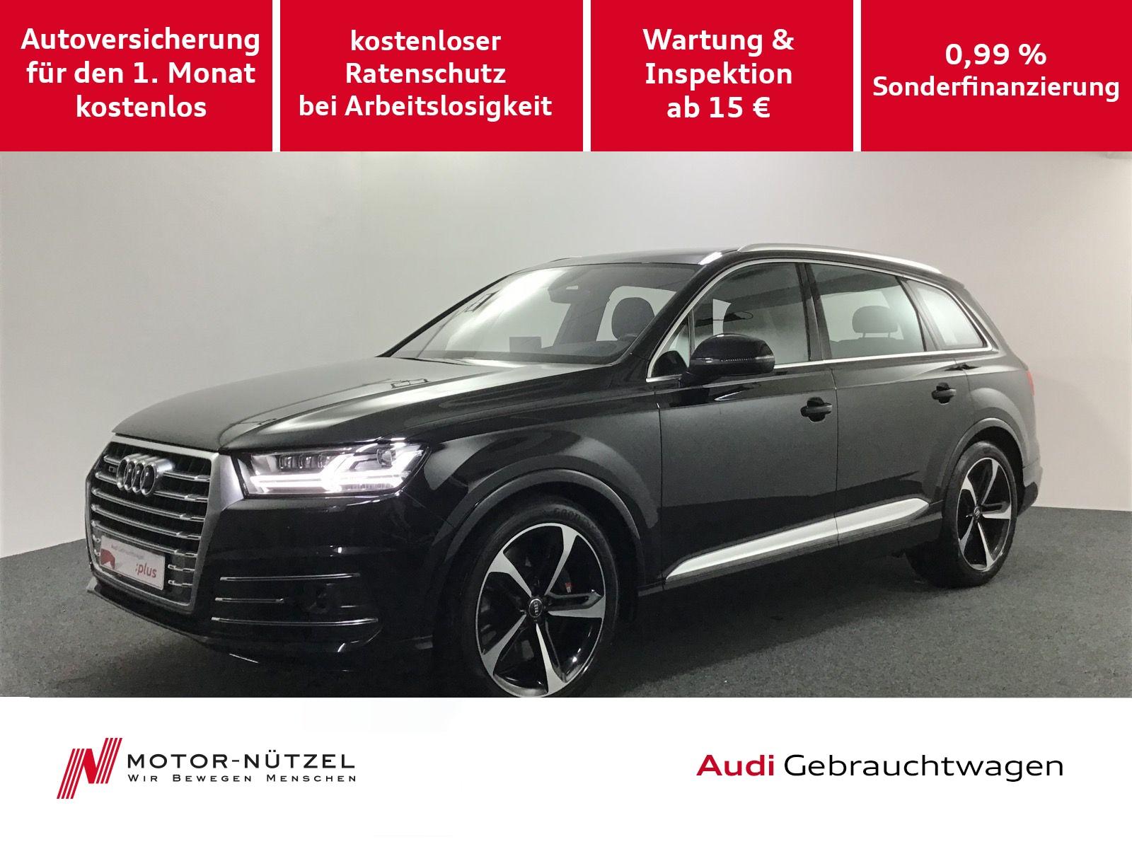 Audi SQ7 TDI quattro HUD+PanoDach+Matrix+AssistPakete, Jahr 2017, Diesel