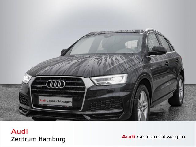 Audi Q3 2,0 TFSI S line quattro S tronic PANO AHK BOSE, Jahr 2017, Benzin