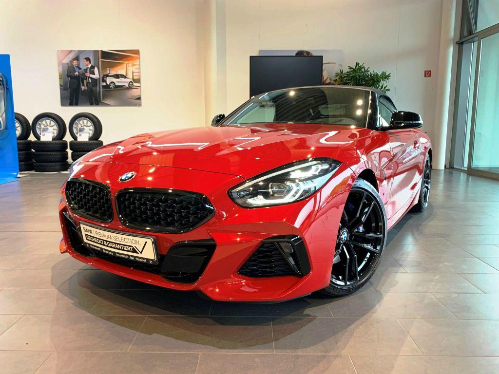 BMW Z4 M40i Cabrio Navi HUD ad.FW ad.LED DrAss St&Go, Jahr 2019, petrol