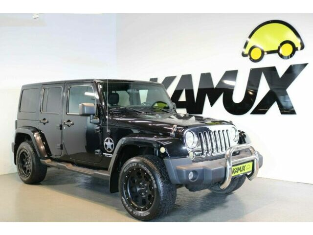 Jeep Wrangler 2.8 CRD Aut. Unlimited Sahara +Hardtop+, Jahr 2013, Diesel
