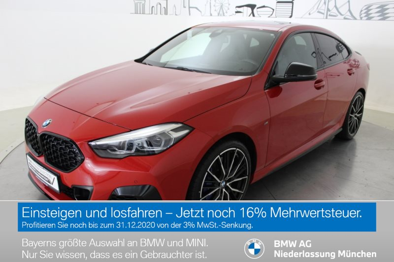 BMW M235i xDrive Gran Coupé M Sportbr. Head-Up DAB, Jahr 2019, Benzin