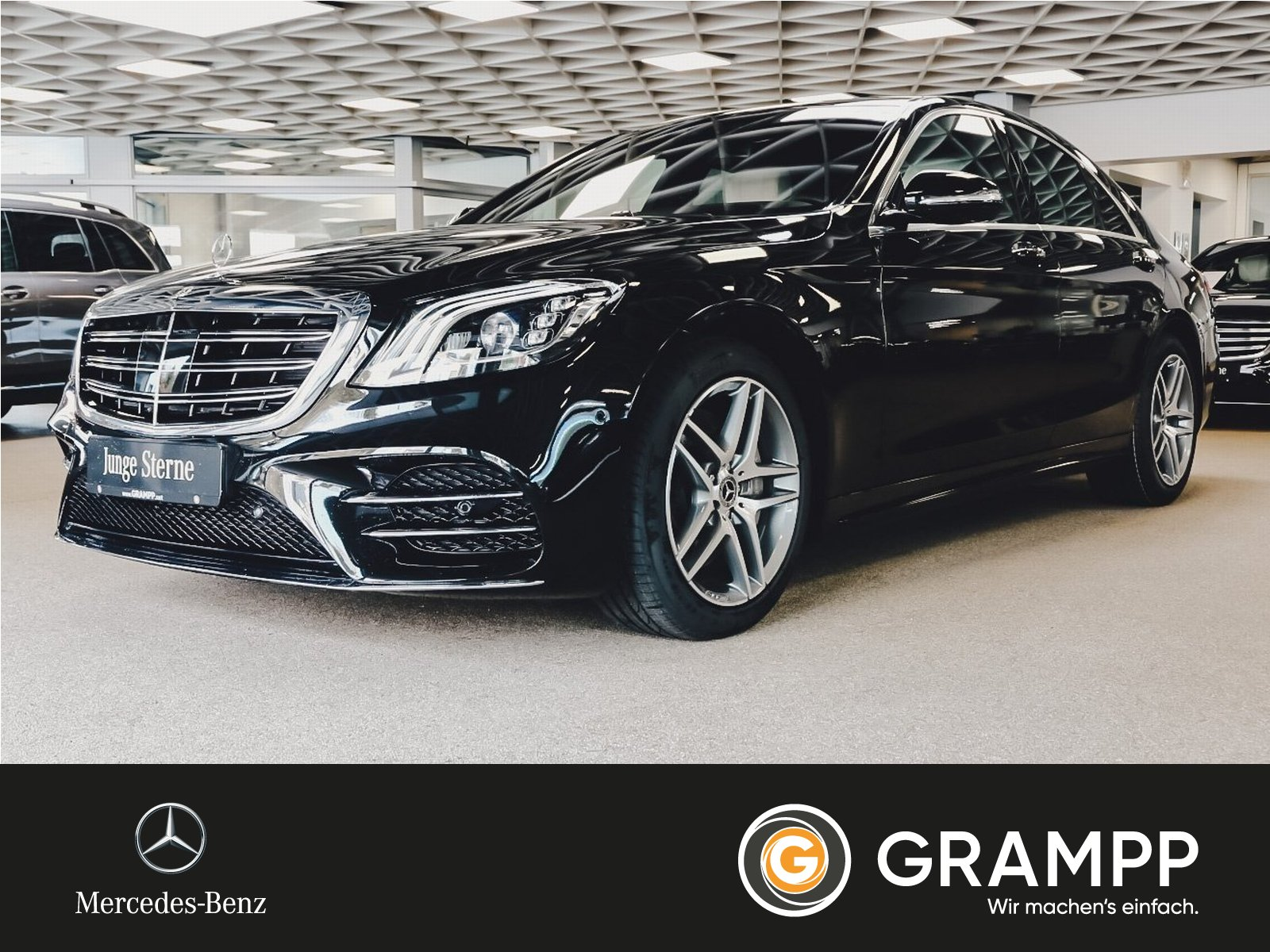 Mercedes-Benz S 450 AMG Distronic/Fond-DVD/Nachtsicht/Massage, Jahr 2019, Hybrid
