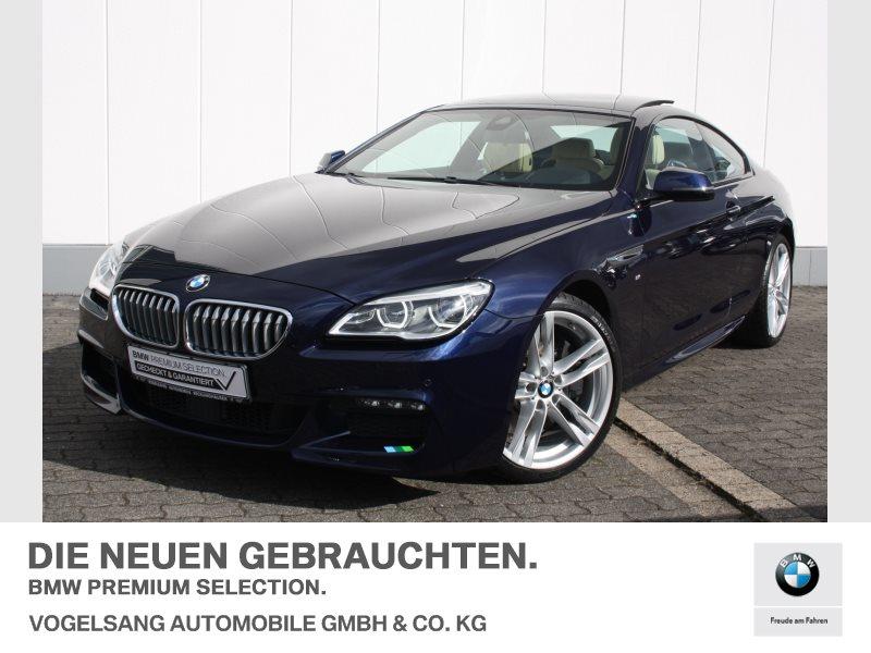 BMW 650i Coupé M Sportpaket Head-Up B&O HiFi LED, Jahr 2016, petrol