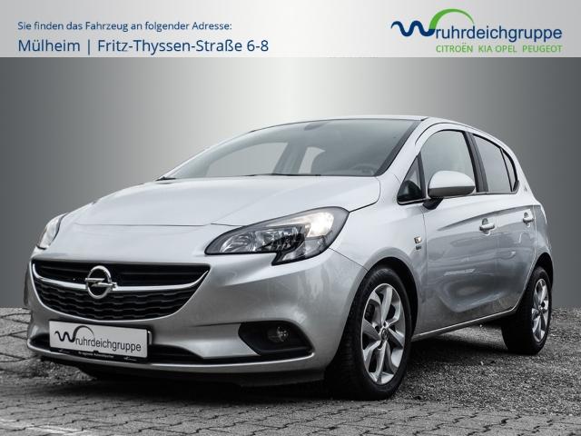 Opel Corsa E 120 Jahre 1.4 *Allwetter+Klima+PDC+4.0 IntelliLink*, Jahr 2019, Benzin
