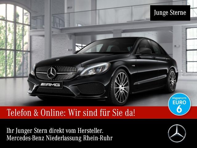 Mercedes-Benz C 43 4MATIC Sportpaket Bluetooth Navi LED Klima, Jahr 2017, Benzin