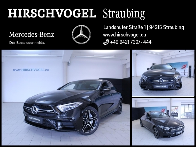 Mercedes-Benz CLS 53 AMG 4M+ Night+SD+Keyless+Com+MULTIBEAM, Jahr 2018, petrol