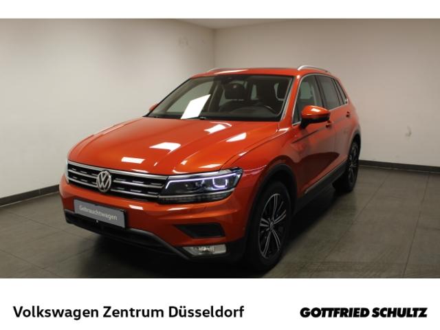 Volkswagen Tiguan Highline 4Motion 2.0 TSI DSG *Pano*NaviPro*Leder*Kamera*virt Cockpit*LED*, Jahr 2017, Benzin