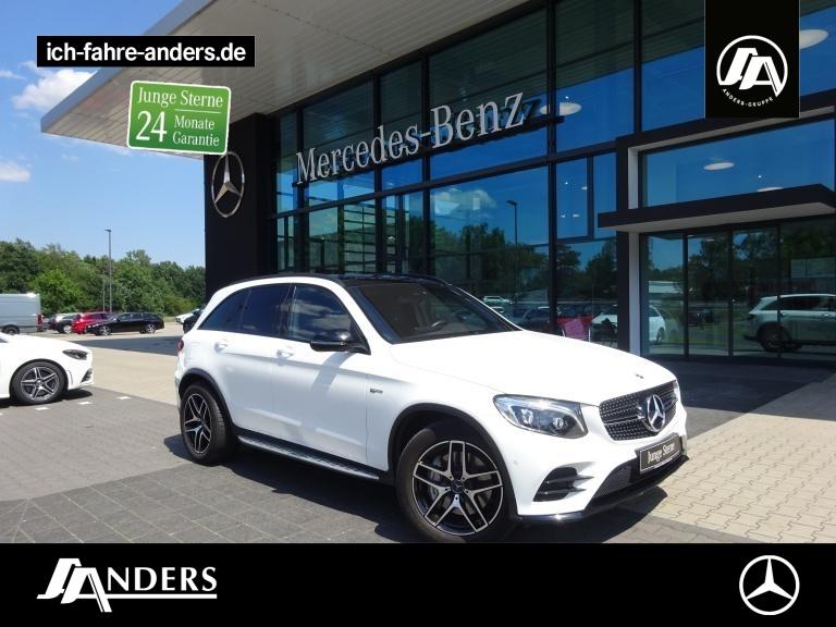 Mercedes-Benz GLC 43 4M AMG+Comand+Pano+Night+AHK+LED+ABC+SHZ, Jahr 2018, Benzin